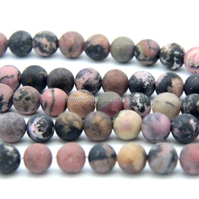 "4mm Picture Jasper Plain Round Beads 15.5/"" Strand UK ER"