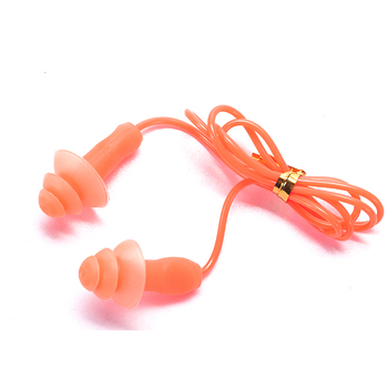 One piece excellent quality durable swimming silicone earplugs