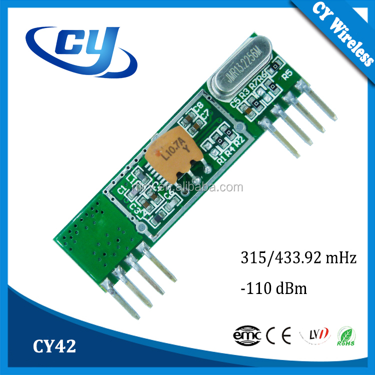 CY42 433.92/315Mhz Receiver Module