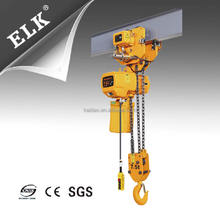 ELK 7.5 T electric hoist with lifting chain