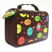 Милый пенал, школьный пенал, чехол Kawaii, мультяшная сумка для ручек, 32/52/72 отверстий, пенал, большой футляр для девочек и мальчиков, Канцтовары(Китай)