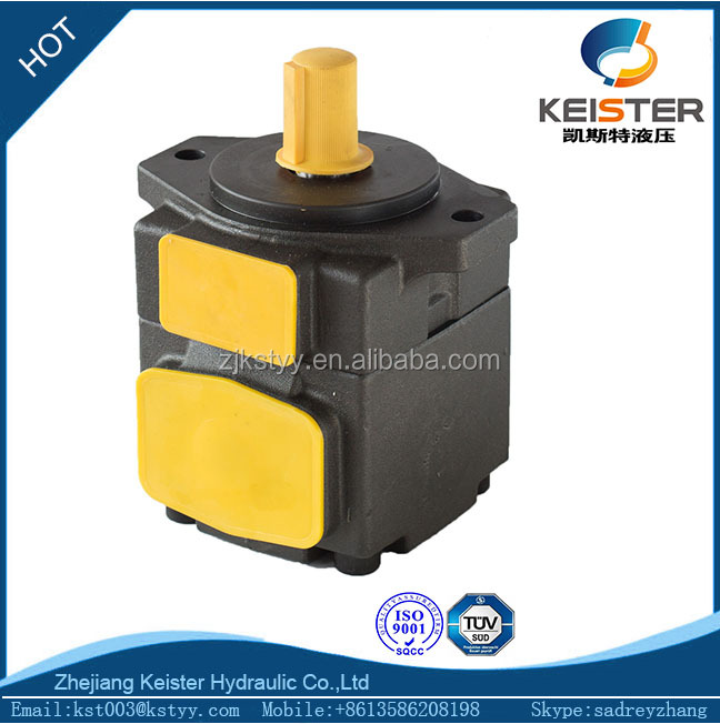 China supplier rotary vane oil vacuum pump green