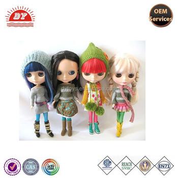 Custom 6 Grandes Olhos Dos Desenhos Animados Boneca Blythe Buy