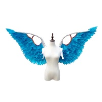 Meilun Art & Craft Carnival costume large feather angel wings for sale