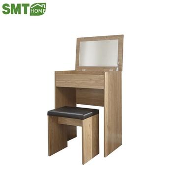 Holz Moderne Einfache Make-up Dressing Tisch Mit Hocker Und Spiegel - Buy  Schminktisch,Schminktisch Mit Schubladen,Schminktisch Mit Spiegel Product  on ...