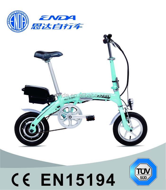 "2016 NEW MINI 12"" Aluminum Folding Electric Bike TDU12Z001"
