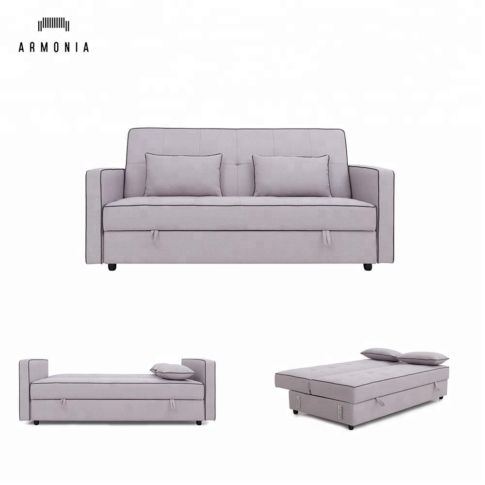 Modern Design Combined Fabric Sofa Bed