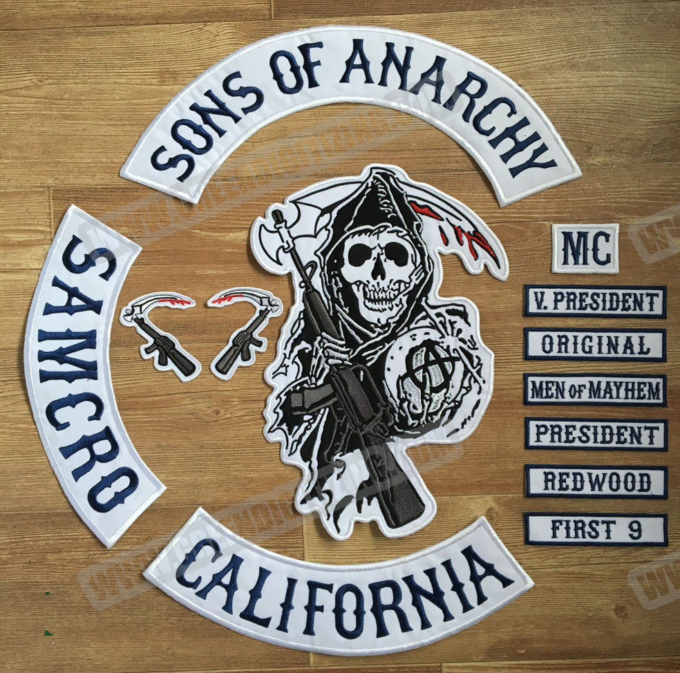 popular motorcycle club patches buy cheap motorcycle club. Black Bedroom Furniture Sets. Home Design Ideas