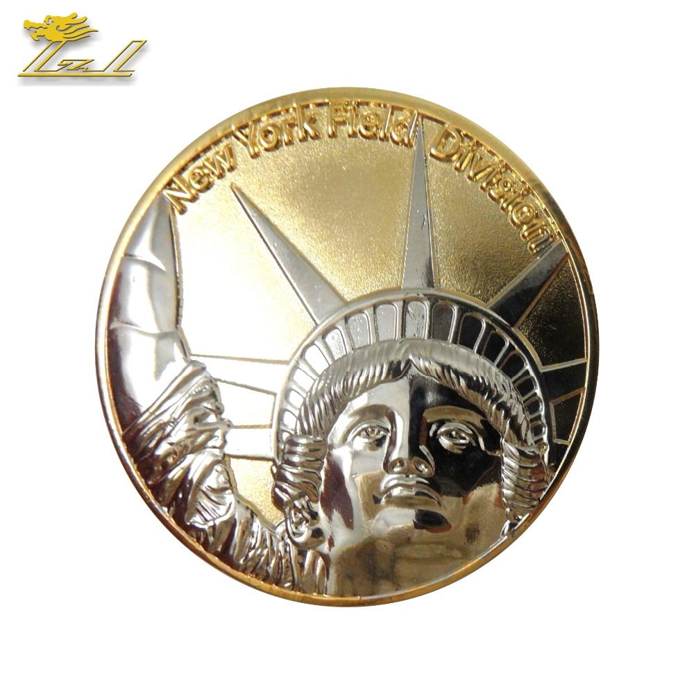 Custom Metalen Uitdaging Coin Militaire Reliëf Coin