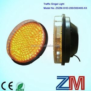 Ball Clear Lens LED flashing traffic signal/about traffic signal on sales