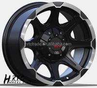 HRTC Sport design Aluminium wheel rim/hub/tyre 16 inch 16*8.0 SUV