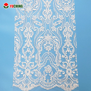 PJR05275R Eco bridal tulle embroidery dress making lace fabric