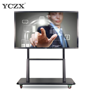 55 inch IR multi touch Whiteboard ,LCD Interactive touch screen monitor interactive smart PC