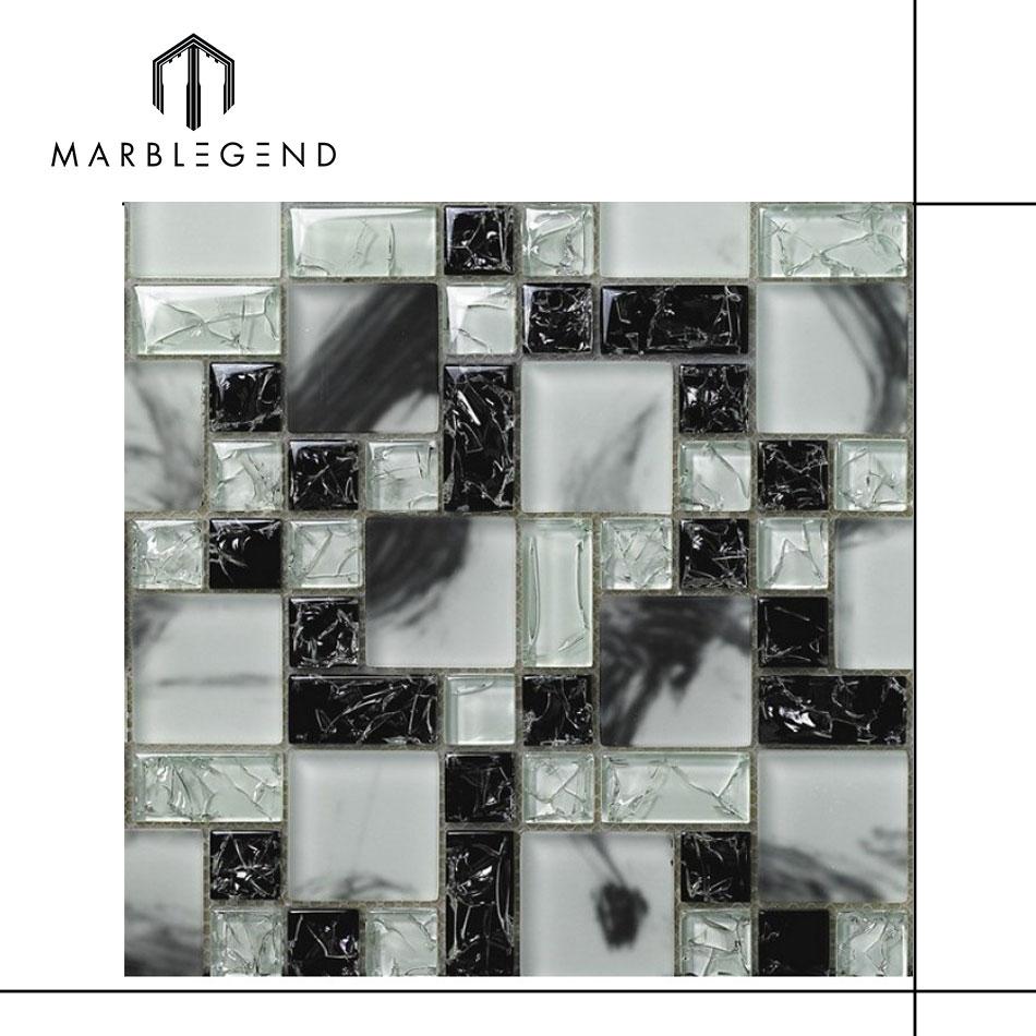 Broken Gl Mosaic Tile