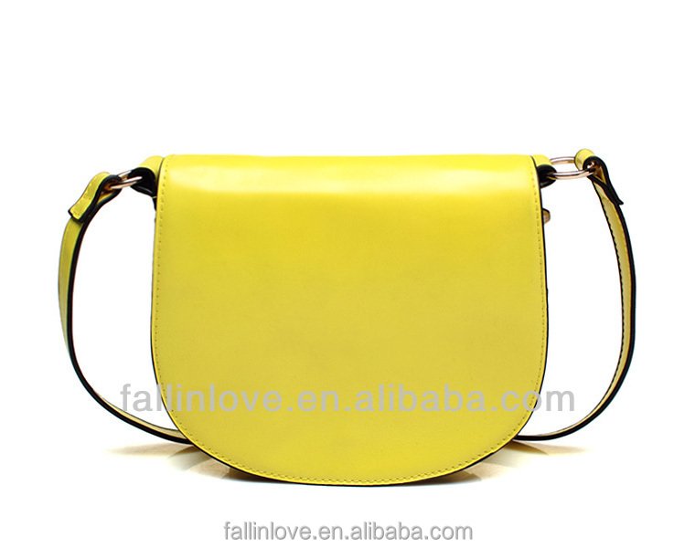 2014 new Summer Candy lady shoulder bag fashion brand design PU handbag manufacture