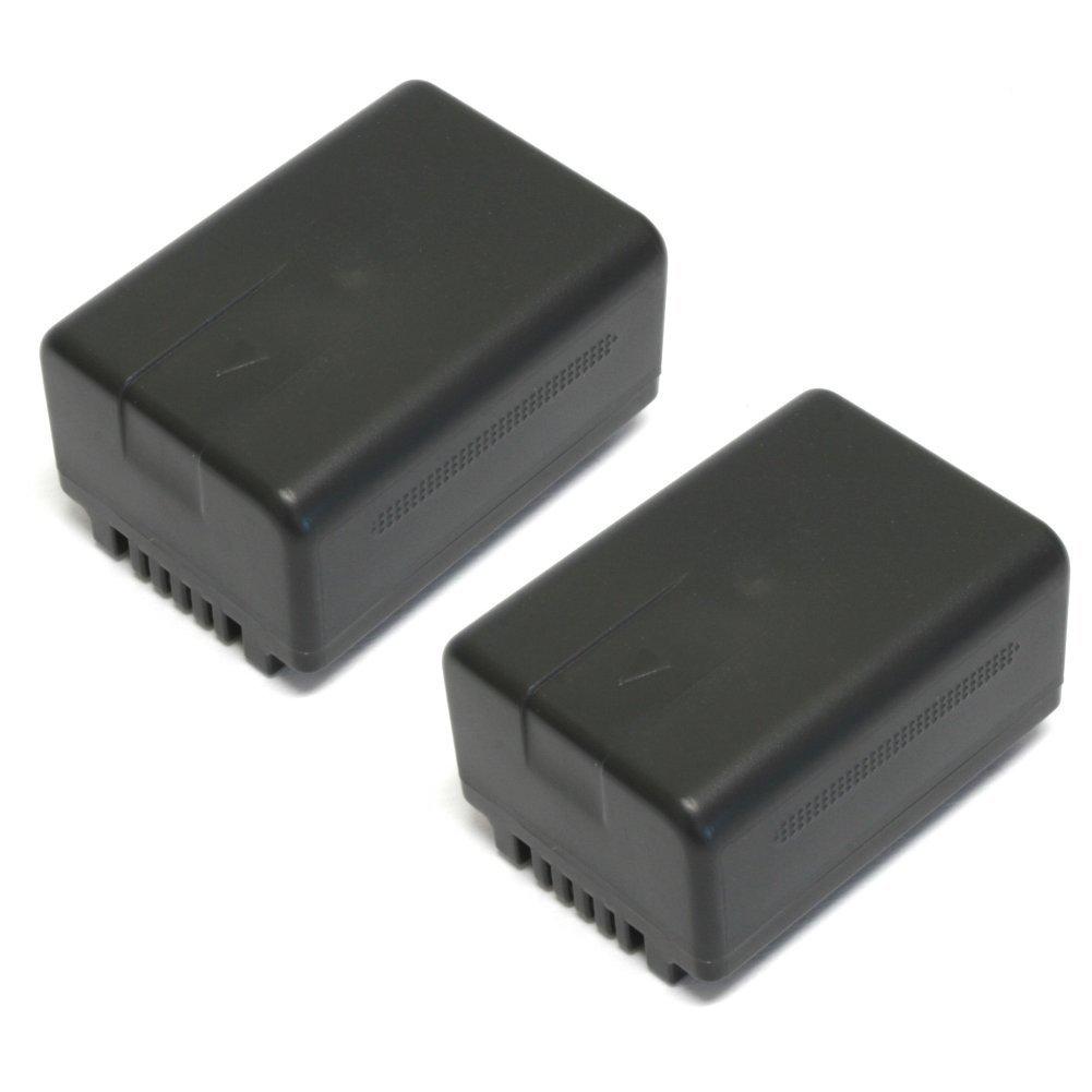 Wasabi Power Battery (2-Pack) for Panasonic VW-VBT190