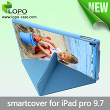 High standard smart cover Sublimation blank tablet case for iPad Pro 9.7