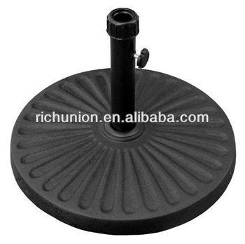 Ordinaire Outdoor Round Concrete Cement Umbrella Base Garden Umbrella Stand