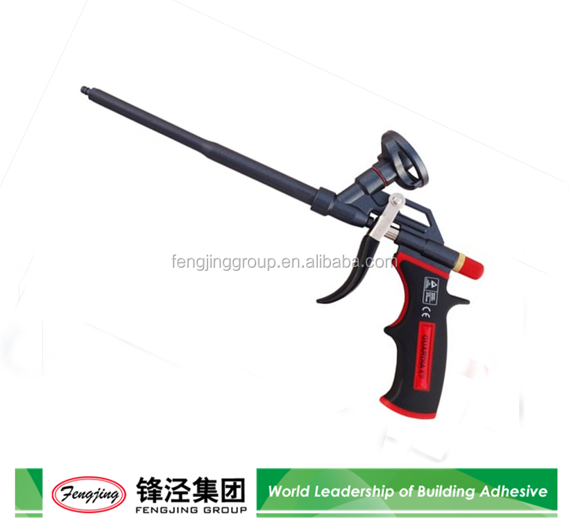 Hot Sale Building and Construction One Component Teflon Coated Polyurethane Foam Adhesive Gun