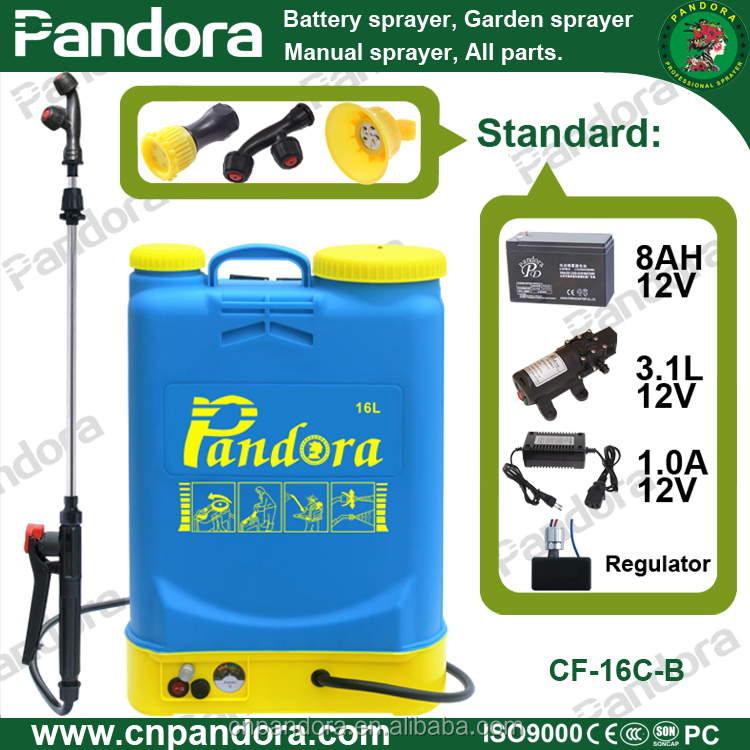 16L Agricultural Knapsack Power Sprayer