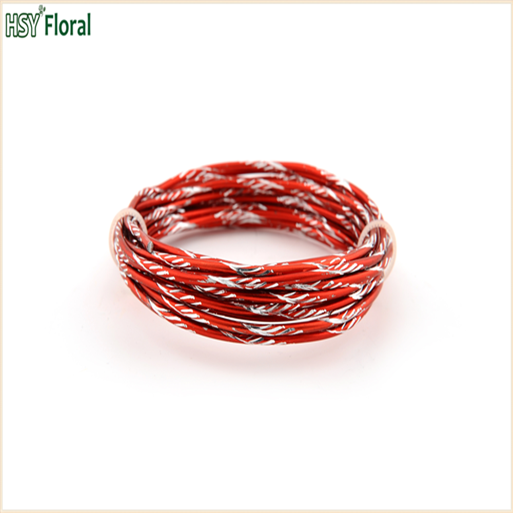 Florist Wire-colored Diamond Aluminum Wire For Decoration - Buy ...