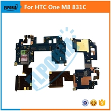 For HTC One M8 831C MainFlex Power Button Connector With Mic Mainboard FPC Main Flex Cable Replacement
