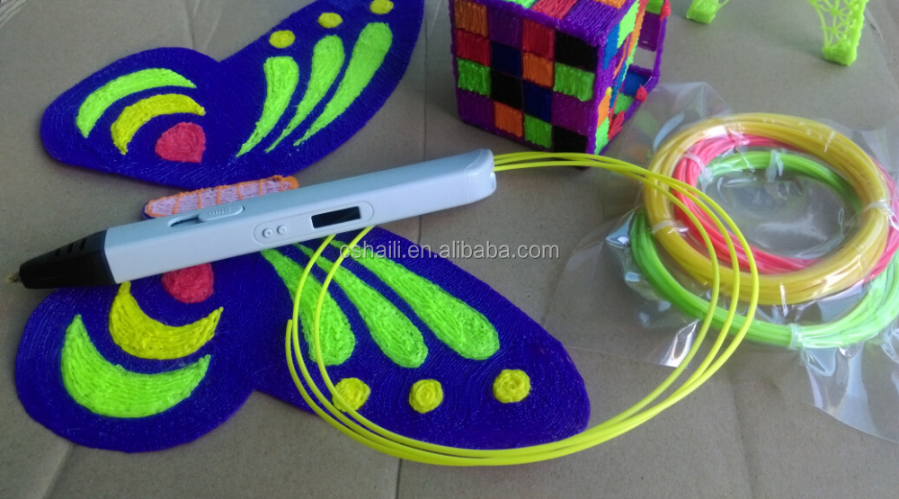 Best selling abs pla filament for 3d printer pen