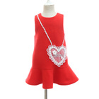 Baby girls woolen frock designs girls winter dresses for Christmas party wear