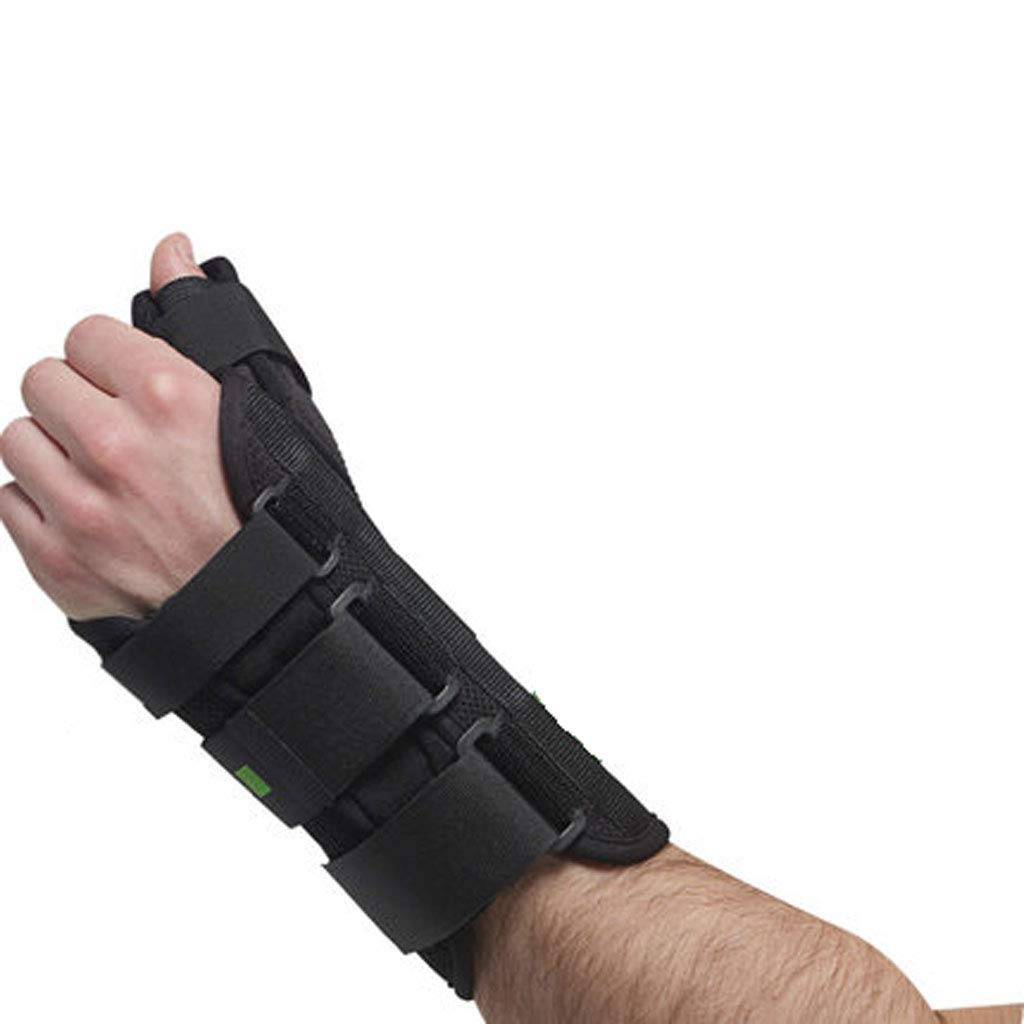 Bracers, Wrist Support Tenosynovitis Wrist Fracture Sprain Fixed Plate Medical Protective Gear (Color : Left Hand, Size : S)