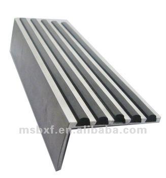 Superbe Non Slip Rubber Stair Tread/pvc Stair Nosing/heavy Duty Aluminium Stair  Nosing/