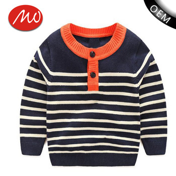 Striped Free Knitting Patterns Peruvian Pullover Sweater Kids For