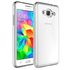 For Galaxy J2 Prime Case, Anti Scratch Hard Back Clear Flexible Soft TPU  Protective Case Cover For Samsung Galaxy J2 Prime