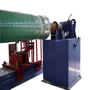 Auto FRP filament twining pipe equipment for winding GRP pipe