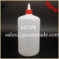 Dropper Sealing Type and HDPE Plastic Type 1 liter fancy juice bottle