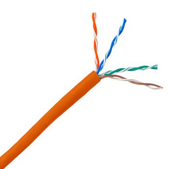 Copper Lan Cable Cat5e FTP LZSH Network Cable 4 Pair 305m