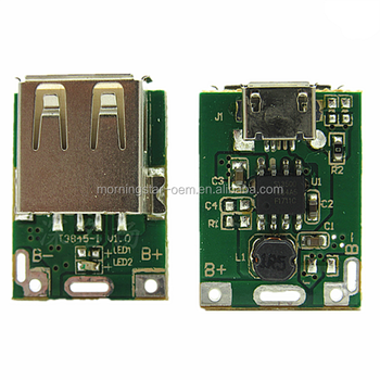 power 5v booster circuit board lithium battery charging pcb green5v step up power module lithium battery charging protection board5v step up power module lithium battery