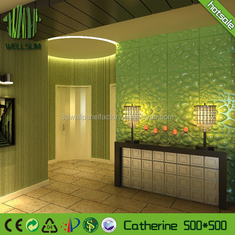 fashion soundproof 3d wall panel factory perfect sweetness for baby room