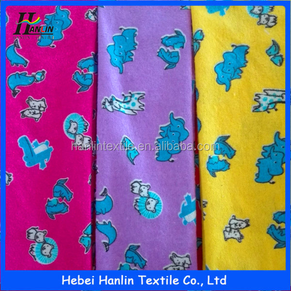 100% cotton flannelette 24*13 42*44/20s*10s 40*42,pure cotton flannel fabric,inner bag fabric