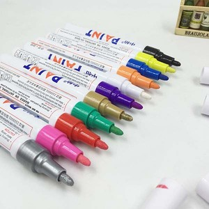 Empty Paint Marker Solid Pen for All surfaces Marking for Metal for Rubber for Plastic