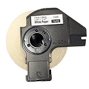 2 pack New label roll DK-1209 compatible for Brother DK-1209(1.1 in x 2.4 in)with cartridge use with QL-580N, QL-650TD, QL-700