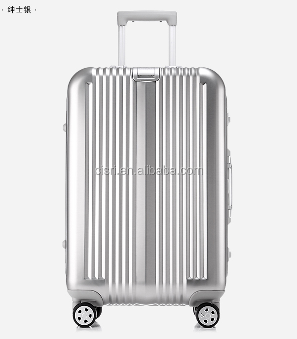 Business luggage travel luggage Carry-on suitcase Aluminum alloy trolley luggage