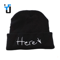 Colors Custom Logo Men Women Winter Knitting cc Beanie Hat