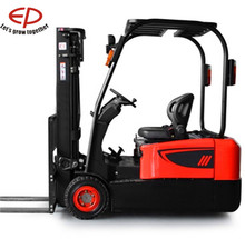 1.5T, 1.8T, 3-4.5M 3-wheel electric forklift model CPD15/18T3