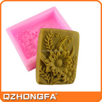 New arrival beautiful cheap customized silicone 3d molds for soap