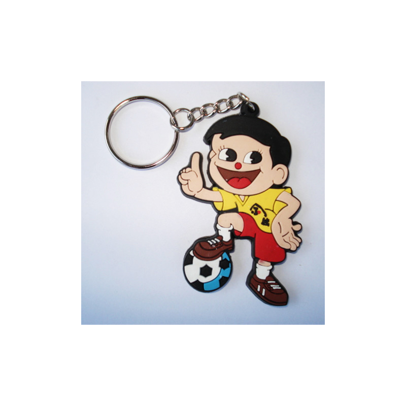 Professional rubber duck key chain