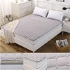 Quilting polyester and cotton pure colour or printed Anti-skid mattress protector