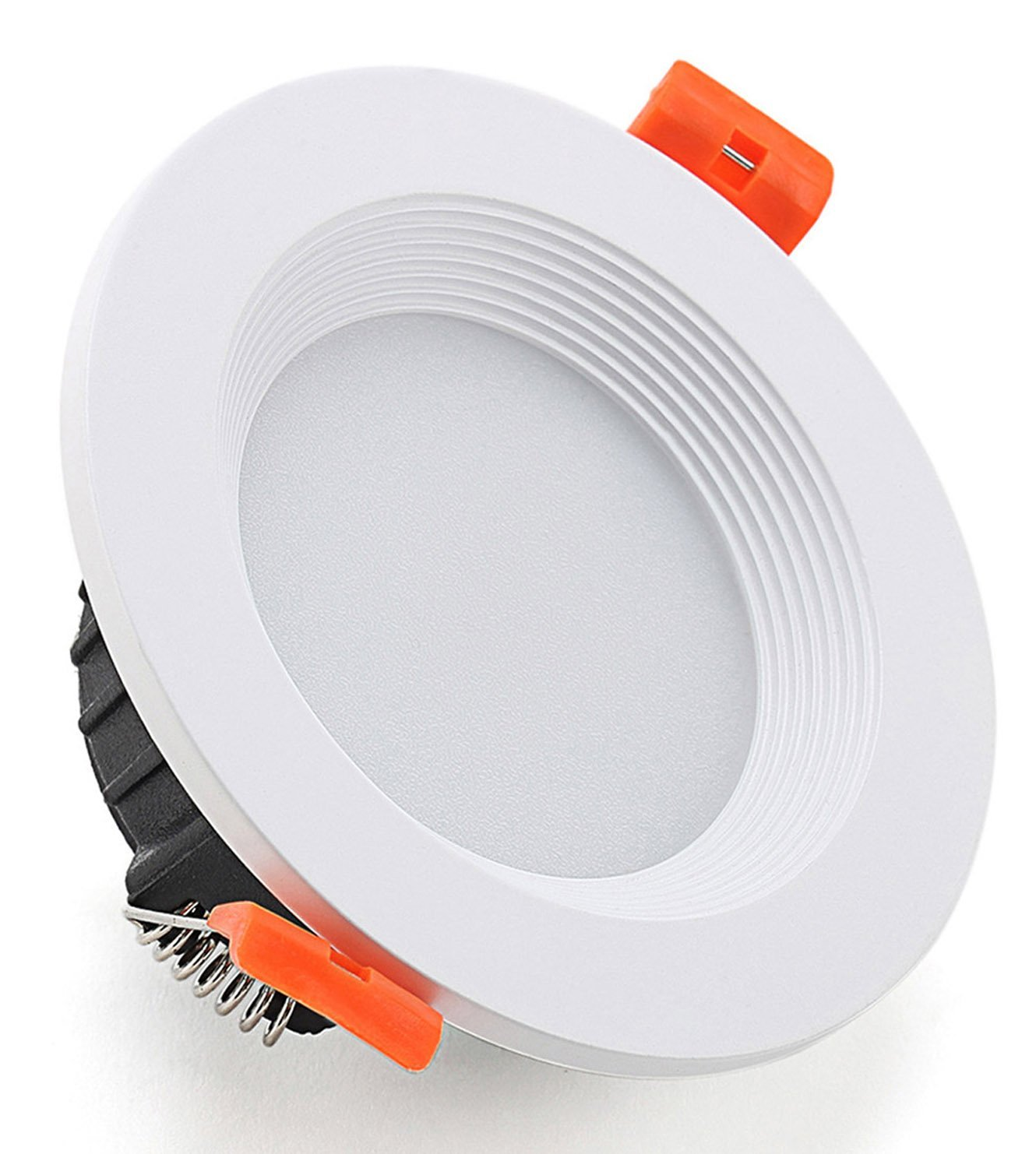 Diranda Round LED Recessed Ceiling Light Retrofit Cool White 6000-6500K 12W 5.83'' With Led Driver Lighting Lamp Fixture AC 85-265V
