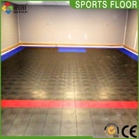 High quality low price flooring for exercise room in basement