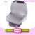 Multi Use Portable 4 In 1 Stretchy 100% Cotton Stripes Baby Car Seat Canopy Nursing Breastfeeding Cover Shopping Cart Cover Baby