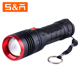 Powerful Strong Light 1000 Lumen Zoomable Rechargeable USB Led Torch Flashlight